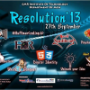 "CMR Institute Of Technology CMRIT, Bangalore organizes ""Resolution 13″ on September 27 2013"