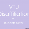 Disaffiliation of two colleges by VTU | Show cause notices granted to 4 VTU colleges