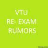 VTU: No Re-Exam for Maths 4 (10-MAT-41) or any other subject | VTU Re-exam Rumors 2014