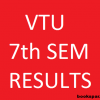 VTU :  7th and 8th sem results will be announced Today