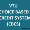 VTU starts Choice Based Credit System (CBCS) with June/July 2015-2016 batch