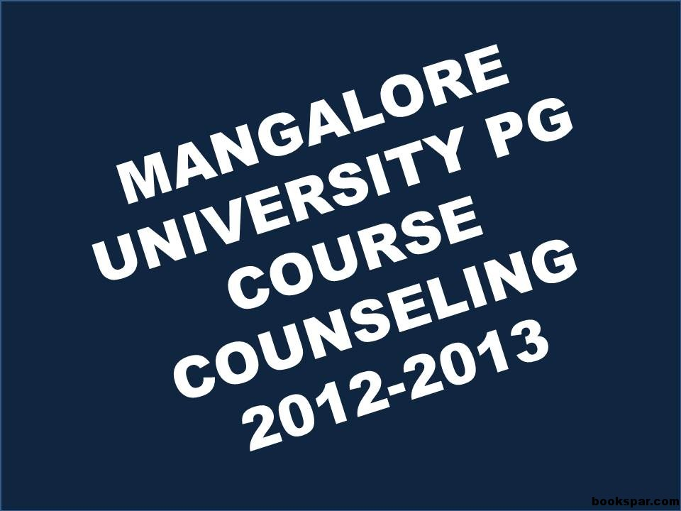 Guidance Counselor universities course