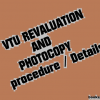 VTU 3rd and 5th sem Revaluation and Photocopy details for June 2012 Examinations