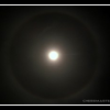 Ring around the MOON, Halo on 27 September 2012 from India