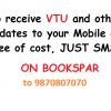 Get VTU and other University, Fests, Events, Jobs, Placements, Notes and question paper updates to mobile
