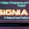 Insignia 2013, Technical and Cultural fest organized by SDM College of Engineering and Technology, Dharwad from March 21 – 23