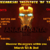 Anaadyanta 2013 from March 1 – 3, Cultural fest by Nitte Meenakshi Institute of Technology, Bangalore