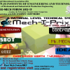 MECH-I-PRIX 2013, Bapuji Institute of Engineering and Technology, Tech Fest, Davangere on 2and 27 April