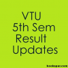 VTU results 5th sem Dec 2013 / Jan 2014 to be announced