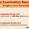 2nd PUC results 2014 announced today | Karnataka KSEEB 2nd PUC results 8 May 2014