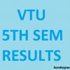 VTU 5th sem results for Jan 2017 has been announced
