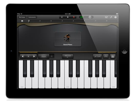 Piano Garage Band : Garageband now available for iphone and ipod touch users book