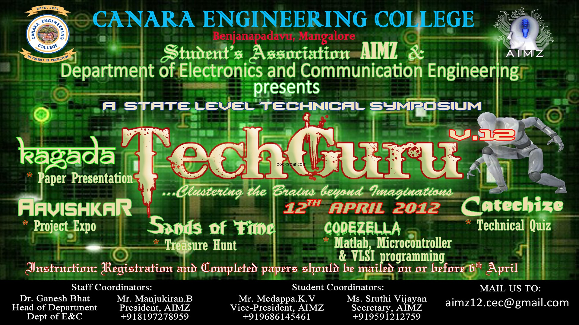 technical fests in engineerig colleges The institute came into existence on 7th, august 1986 as regional engineering college, hamirpur in hamirpur, himachal pradesh, india,.