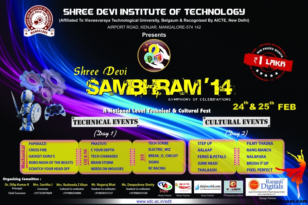 SHREE DEVI INSTITUTE Poster